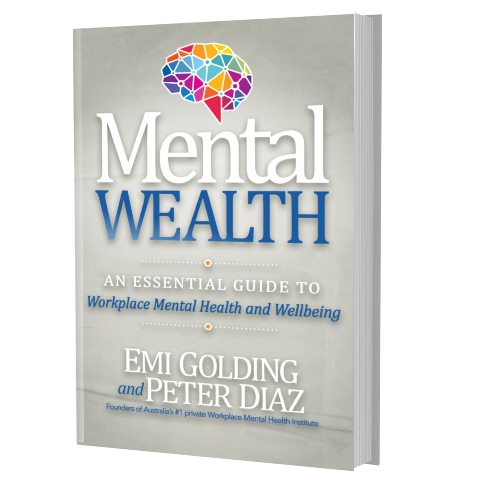 Mental Wealth book by Emi Golding and Peter Diaz
